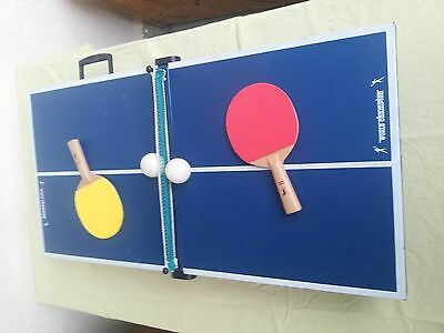 Portable table tennis, ping-pong, play child's, game,indoor, game for family