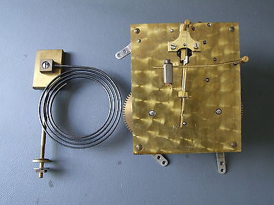 Vintage Tower mantel clock movement and chime for repair or spares