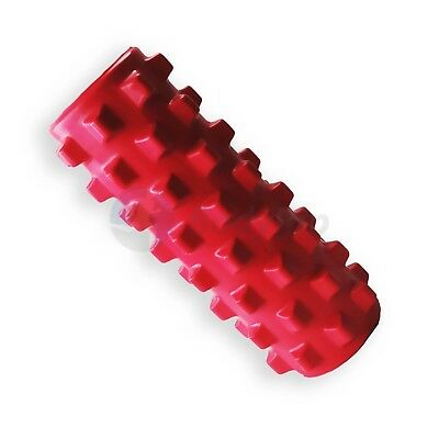 BodyRip Pink Grid Foam Point Massage Roller Pilates Yoga Fitness Rehab Injury