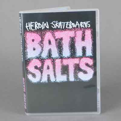 Heroin Skateboards Bath Salts Skateboard DVD