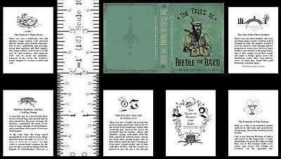 1:6 Scale Miniature Book The Tales Of Beedle The Bard Harry Potter Playscale
