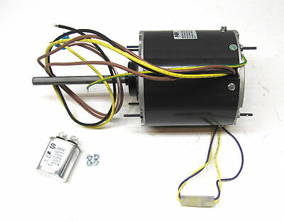AC Air Conditioner Condenser Fan Motor 1/2 HP 1075 RPM 230 Volts for Fasco D7907
