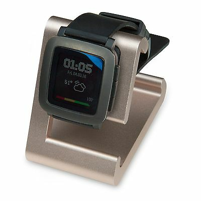 REFURBISHED TimeDock Pebble Time Dock for Charging, Stand ROSE GOLD