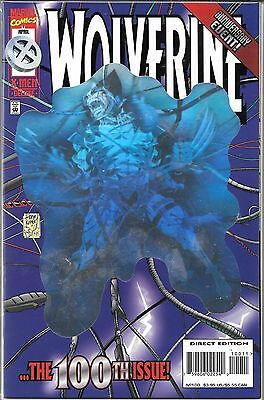 Wolverine #100 (Nm) Deluxe Edition Hologram Cover