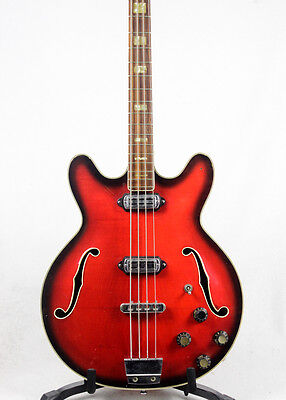 1964 Vox (Crucianelli) made Cougar vintage electric bass guitar - 10017157