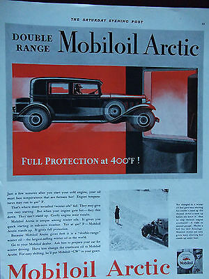 1931 Double Range Mobile Artic Advertisement