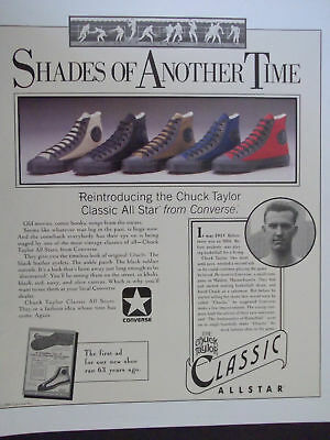 Details about Converse All Star Shoes Advertising Large! 24 x 40 Thick Poster Board Signage