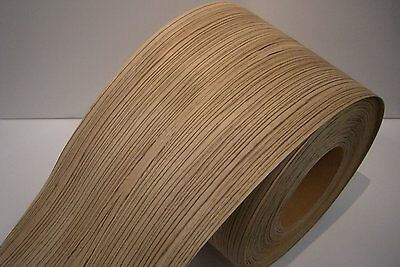Real wood Veneer Zebrano with Hot melt adhesive iron-on 30 cm Wide