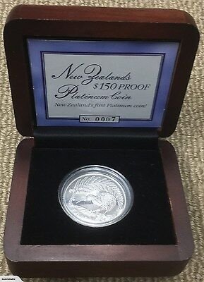 New Zealand's Only Platinum Coin, Mintage 350!
