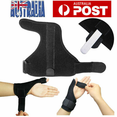 Wrist Support Splint Carpal Steel Tunnel Syndrome Sprain Strain Bandage Brace AU