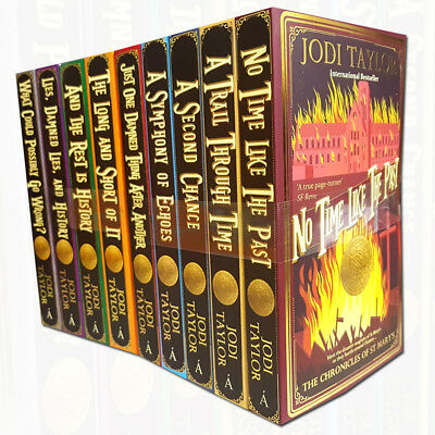 Chronicles of St.Mary's Collection By Jodi Taylor 9 Books Set Paperback ,New