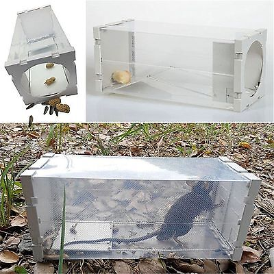 Rat Cage Mice Rodent Animal Control Catch Bait Hamster Mouse Trap Humane Live