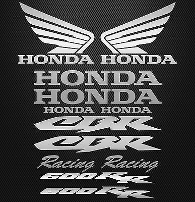 Aufkleber / Sticker Set HONDA CBR 600 RR, 600RR Racing 12 Teilig