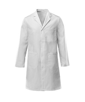 White Lab Coat Laboratory Technician Doctor Medical Warehouse Store Coat