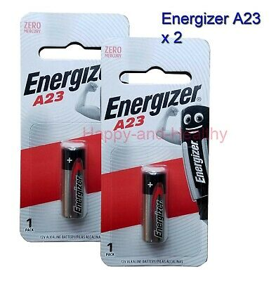 Energizer A23 23A (BP1) Alkaline Batteries x 2 pcs FREE Shipping