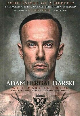 Confessions of a Heretic by Adam Nergal Darski Paperback Book (English)