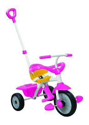 SmarTrike 3-in-1 Tricycle Bike For Baby Toddler Parent Handle Trike Pink