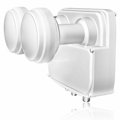 Twin LNB Opticum Premium Monoblock  LMTP-04H 0,1db HDTV digital FULL HD 3D