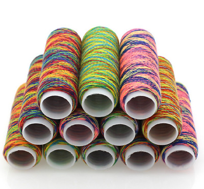 Spool Metical Embroidery Thread for Sewing Machine Handwork 90D Multicolor