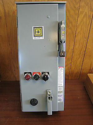 NEW Square D 8538 SCA21 NEME Size 1 Combination Starter 10HP FREE SHIPPING