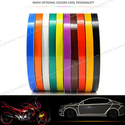 30/300cm Multicolor Car Reflective Safety Warning Conspicuity Tape Film Sticker