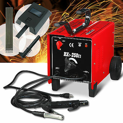 250 AMP Welder Machine 110/220V ARC Dual Welding Soldering Tools with Free Mask