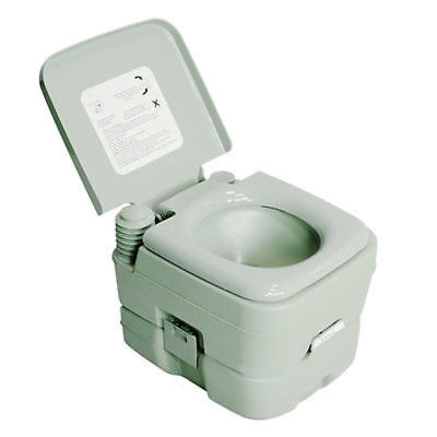New 2.8 Gallon/10L Portable Toilet Flush Travel Outdoor Camping Hiking Toilet US