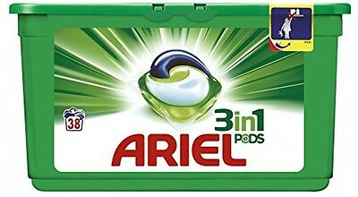 Ariel 3 In 1 Pods Regular Washing Tablets, 114 Washes - Pack Of 3