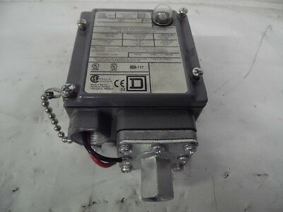 New Square D GAW-5 Series C 3-150 PSIG Pressure Switch