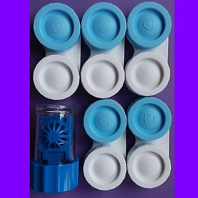 6 ESTUCHES PARA LENTILLAS PORTALENTES Contact Lens Case Box Container Holder