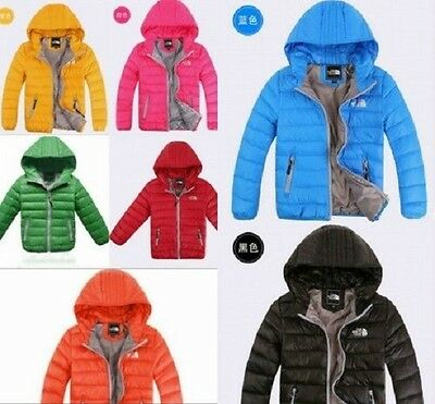 Hot New autumn and winter children boys and girls down jacket down jacket coat