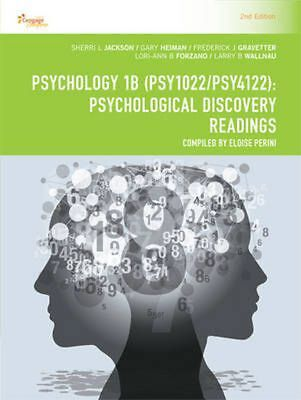 Cp1115: Psychology 1b (Psy1022/Psy4122): Psychological Discovery Readings by She