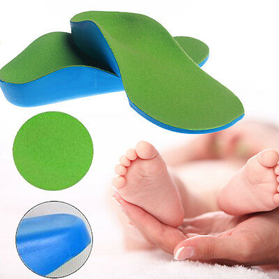 Orthopedic Orthotics Arch Support Shoe Insoles Insert Pad for Children Baby Kids