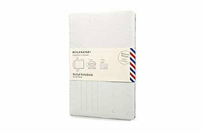 Moleskine Postal Notebook Almond White Crds PNP008 Moleskine Messages Anglais
