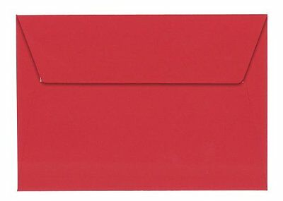 Clairefontaine 5586C - 20 Enveloppes C6 114X162 - Rouge Clairefontaine Clairefon