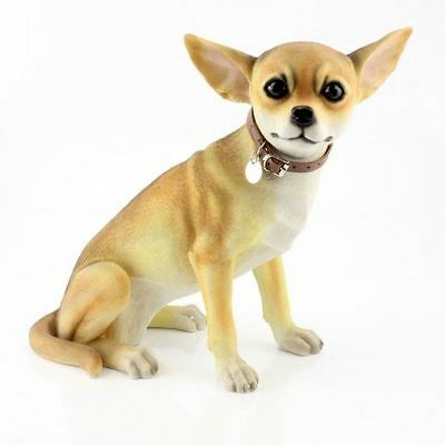 Leonardo collection Extra large Chihuahua dog ornament figurine LP28075