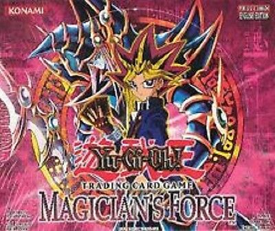 Yu-Gi-Oh! - MAGICIAN'S FORCE - English Booster Hobby Box Unlimited (New Sealed)
