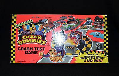 Tyco The Incredible Crash Test Dummies Board Game Vintage 1992