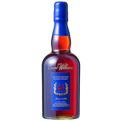Evan Williams 23 Year Old Kentucky Bourbon Whiskey 750ml