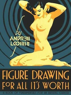 Figure Drawing: For All It's Worth by Andrew Loomis Hardcover Book (English)