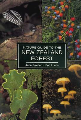 The Nature Guide to the New Zealand Forest by John Dawson Paperback Book Free Sh