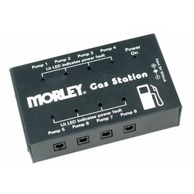 Morley GS-1 Gas Station Multi Power Supply Pedalboard Powers up to 8 9V pedals