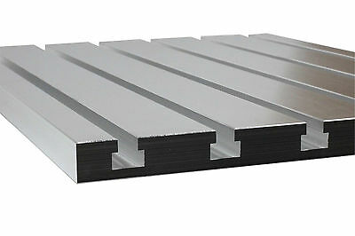 """T-Slot plate 168, T-Slotted fixture table  16""""x 8"""" made of solid cast aluminum"""