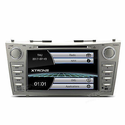 "8"" Car GPS Stereo DVD Player Radio Bluetooth for 2007-2011 Toyota Camry Aurion"