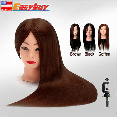2017 New 100% Real Hair Practice Head Training Mannequin Newest