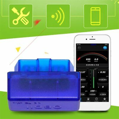 ELM327 OBDII Bluetooth Car Diagnostic Wireless Scanner Tool iOS Android HH