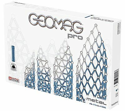 Geomag World PRO Metal Building KIT 100-Piece 214 from Japan New F/S