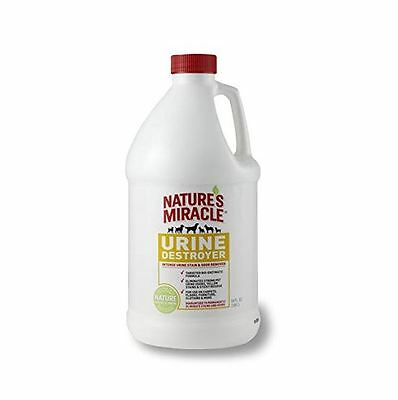 Nature's Miracle Urine Destroyer Stain and Residue Eliminator, 1 Gallon, New