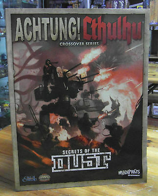 Achtung! Cthulhu Crossover Series Secrets of the DUST Sourcebook Call of Cthulhu
