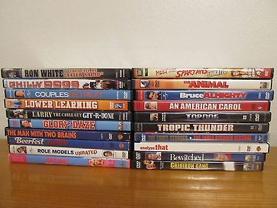 Lot of 20 Various COMEDY DVD Movies - Great Condition - Good Movies (11L)